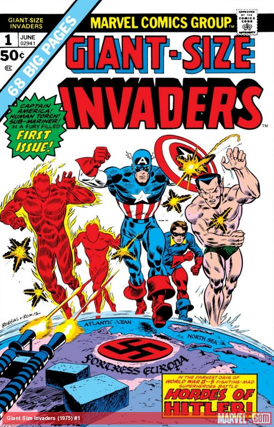 Giant Size Invaders (1975) #1