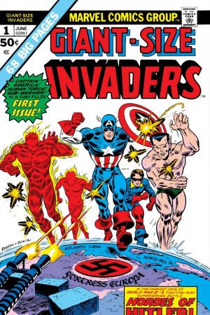GIANT-SIZE INVADERS 2 #1