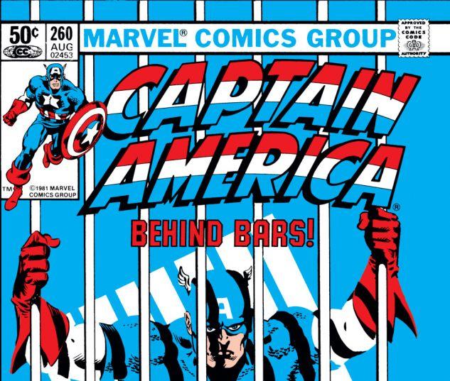 Captain America (1968) #260 Cover