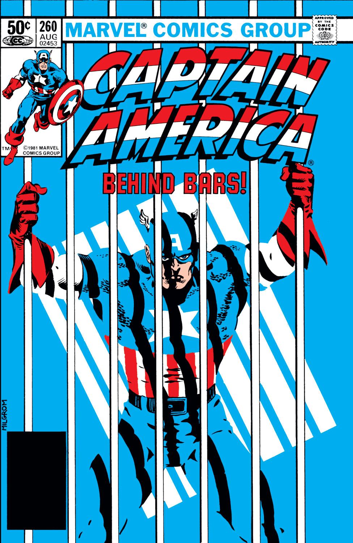 Captain America (1968) #260
