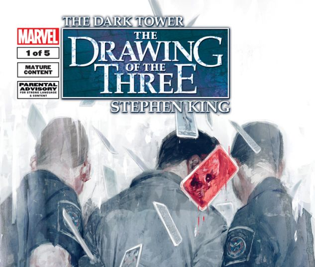 DARK TOWER: THE DRAWING OF THE THREE - HOUSE OF CARDS 1