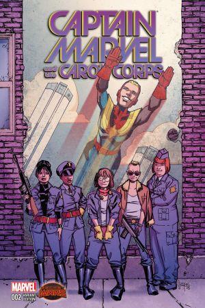 Captain Marvel & The Carol Corps (2015) #2 (Jeanty Variant)