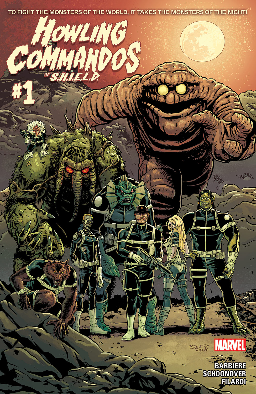 Howling Commandos of S.H.I.E.L.D. (2015) #1