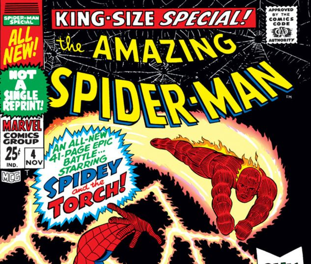 AMAZING SPIDER-MAN ANNUAL (1964) #4 Cover