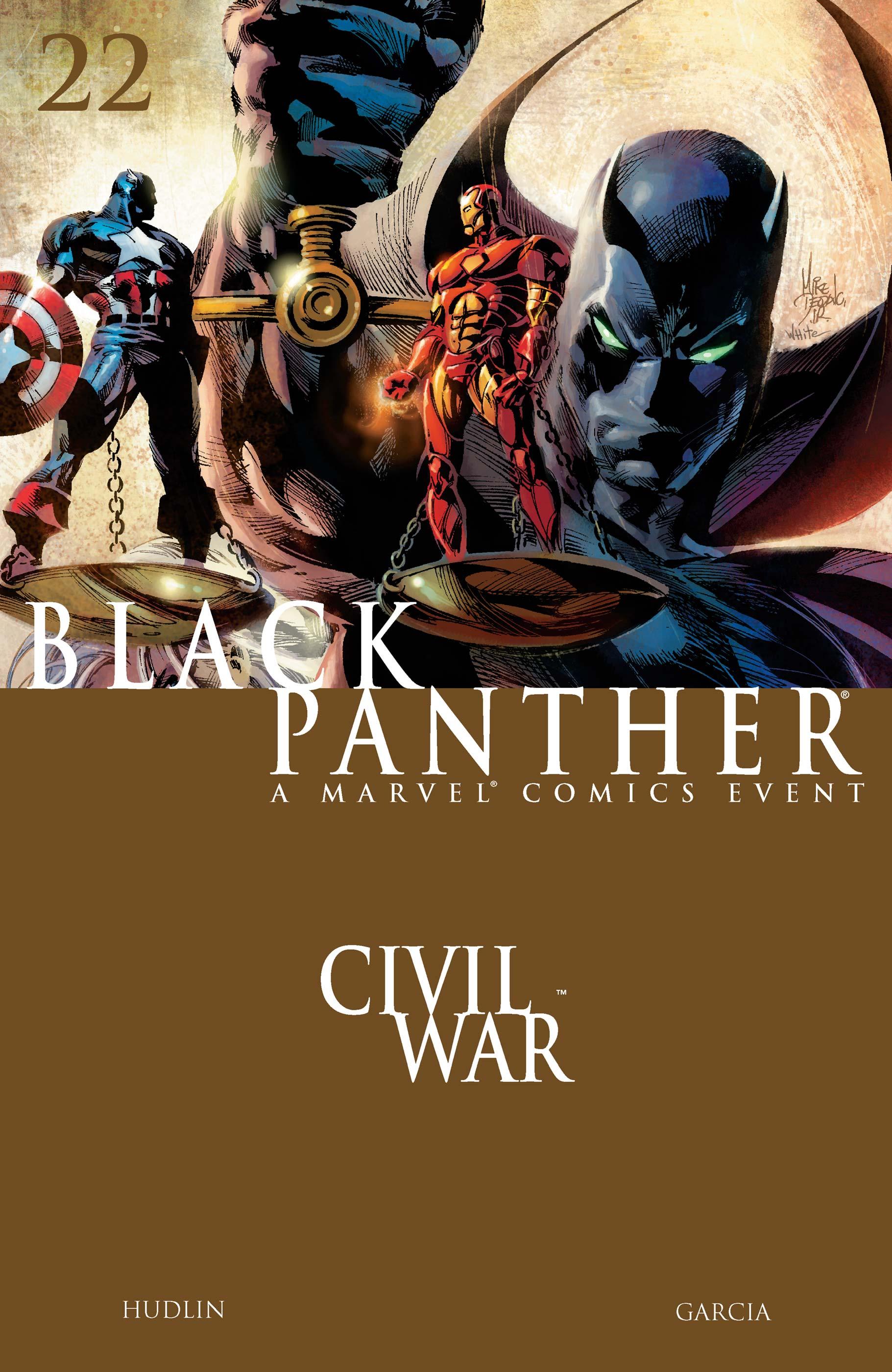 Black Panther (2005) #22