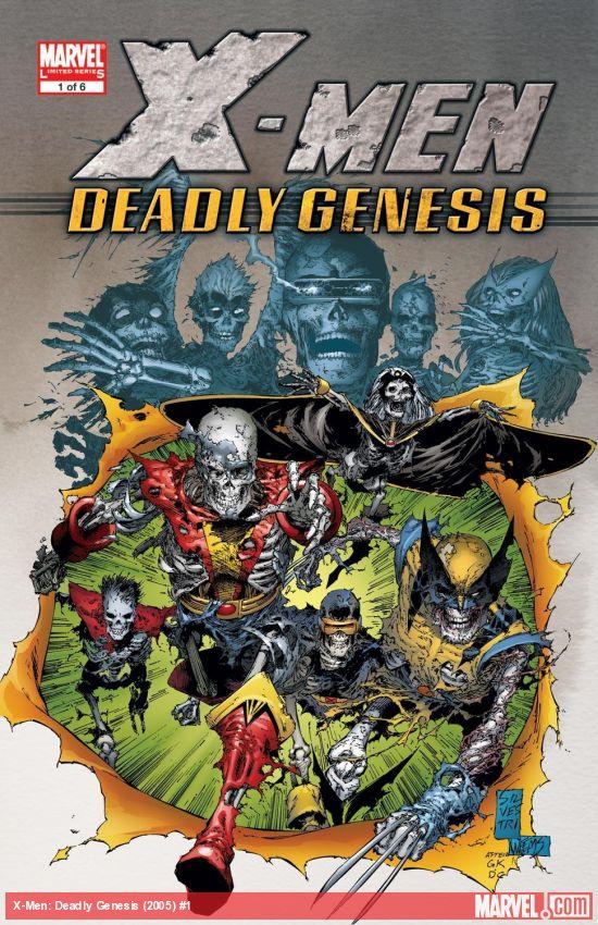 X-Men: Deadly Genesis (2005) #1
