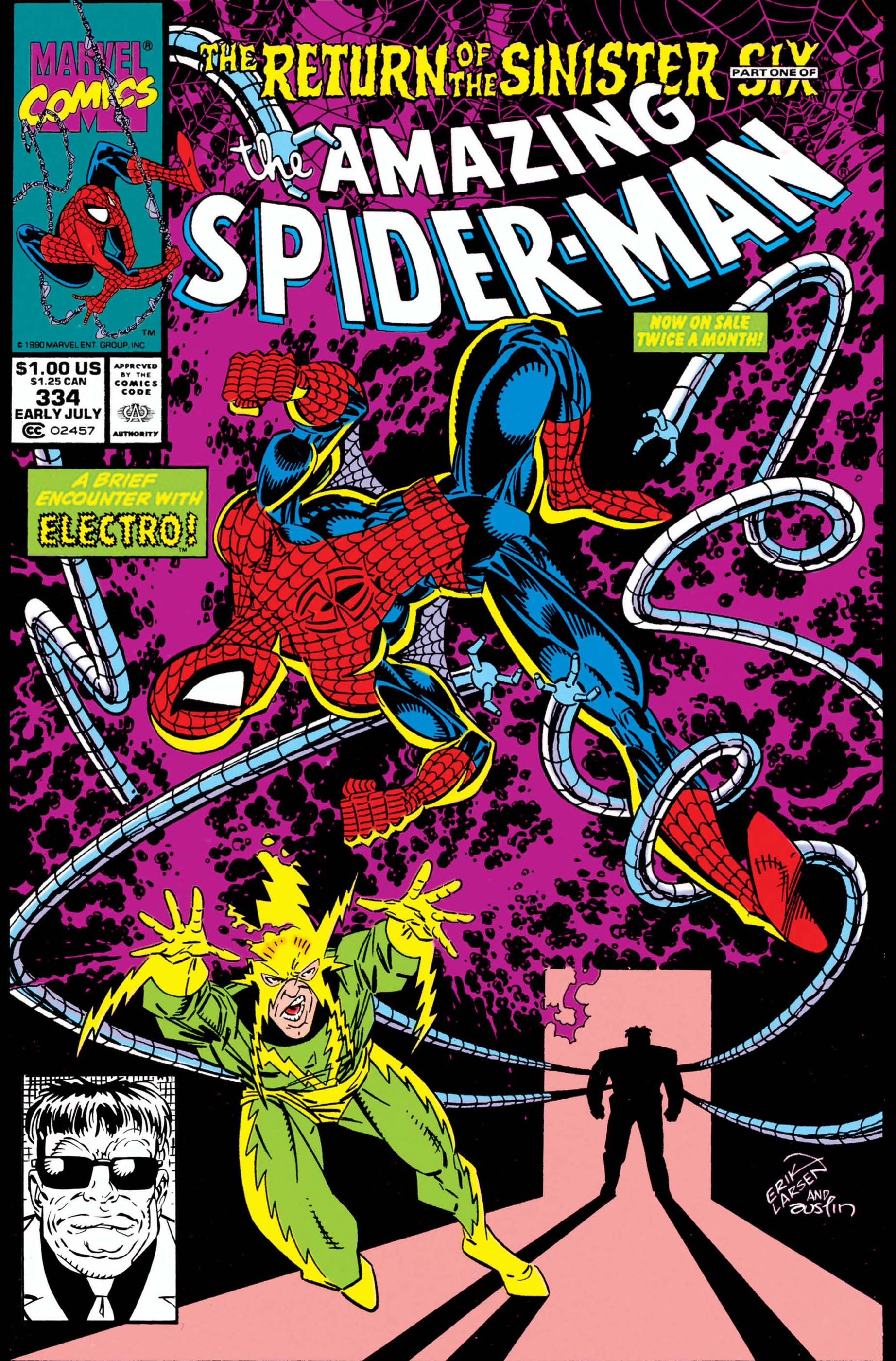 The Amazing Spider-Man (1963) #334
