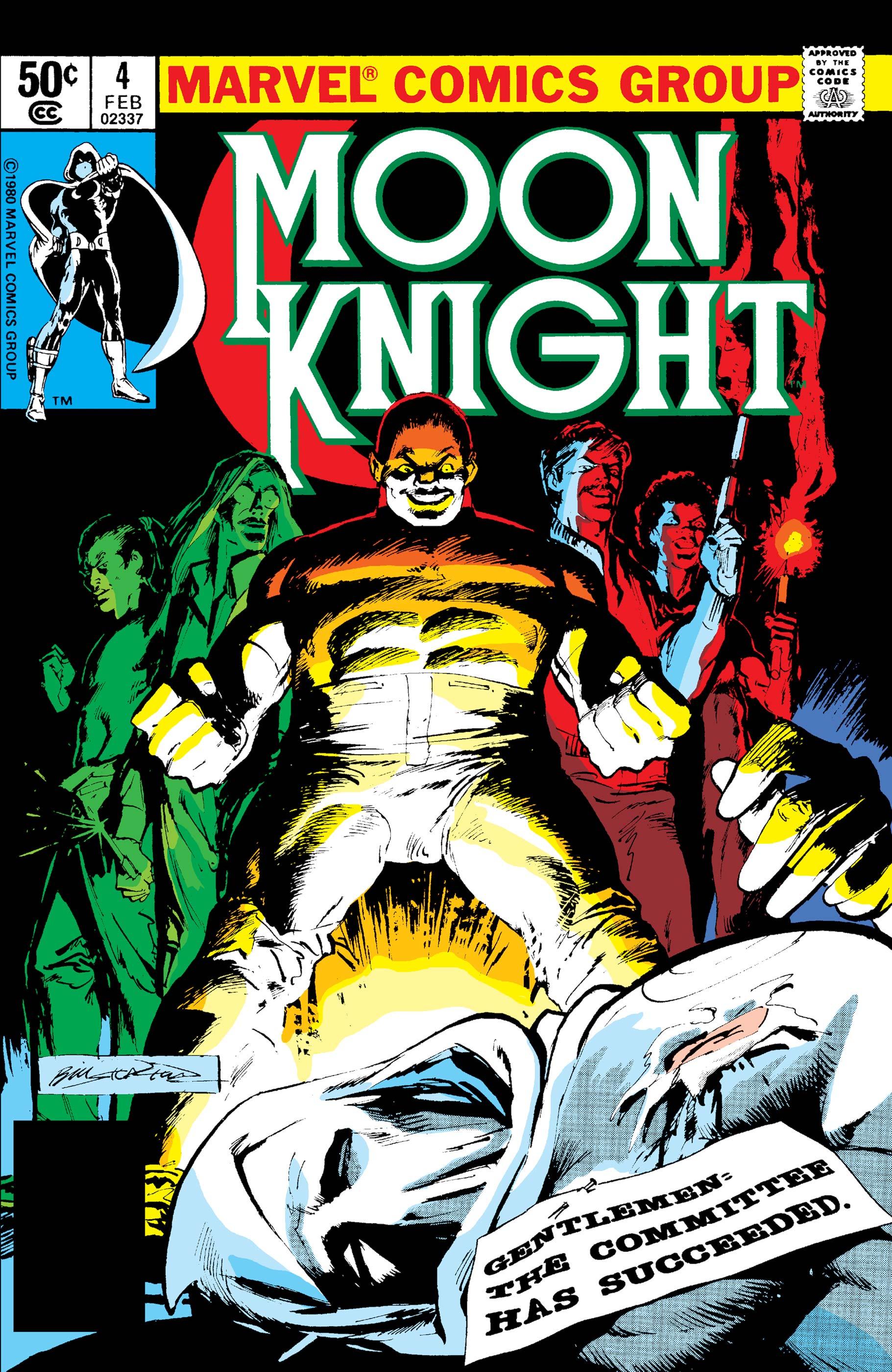 Moon Knight (1980) #4
