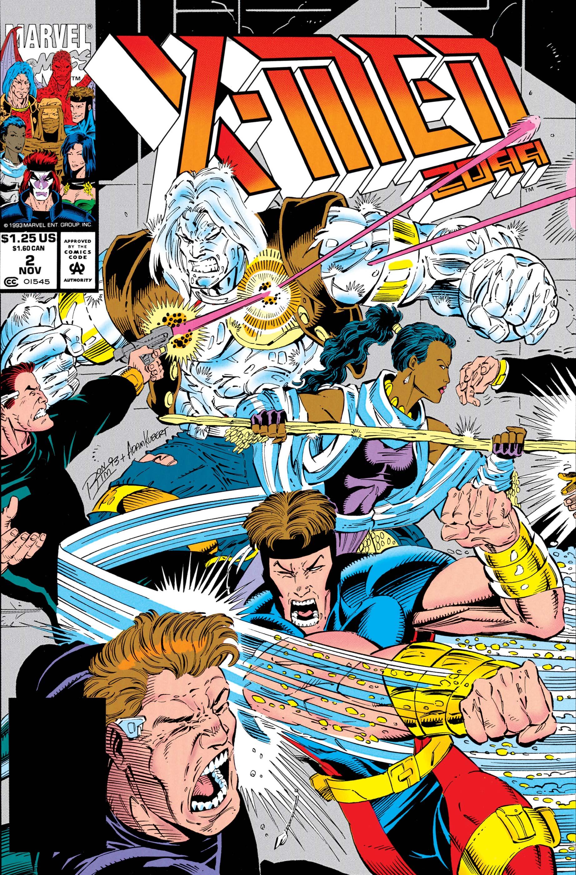 X-Men 2099 (1993) #2