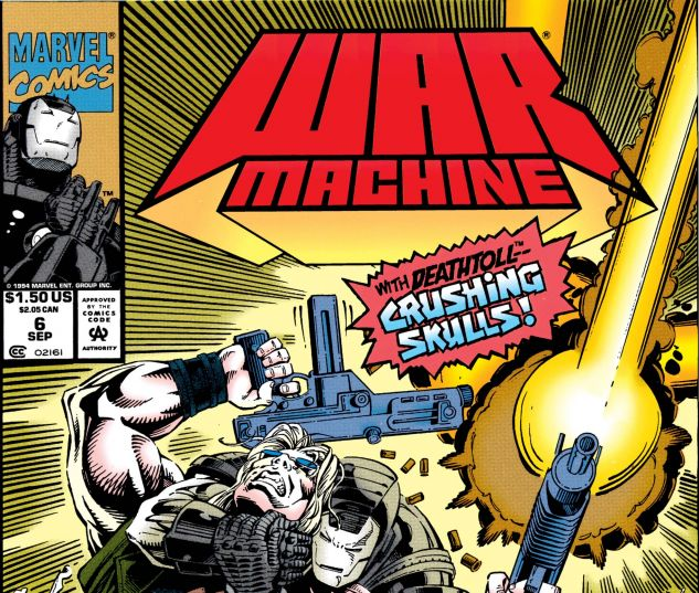 War Machine (1994) #6