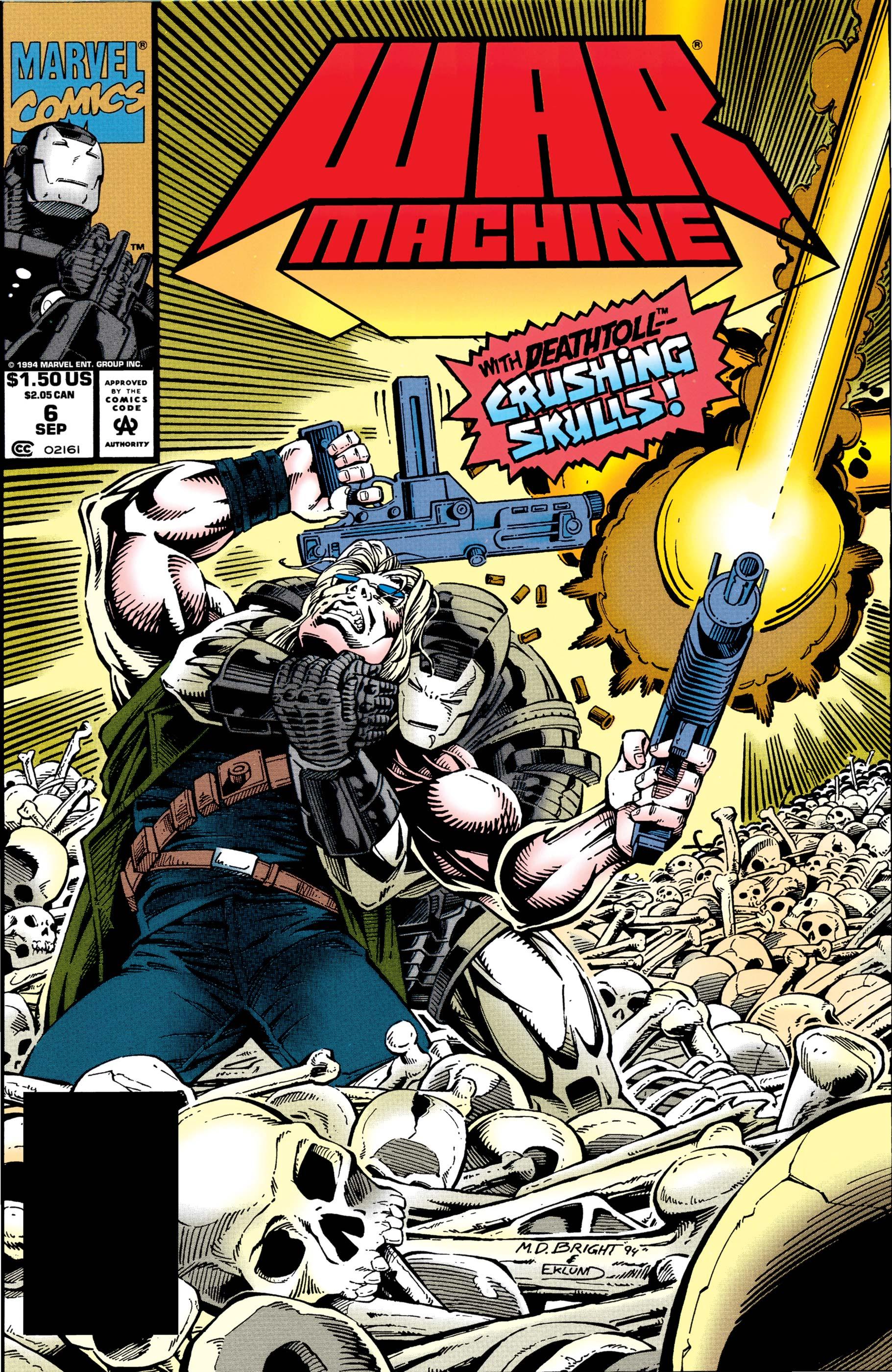 War Machine (1994) #6