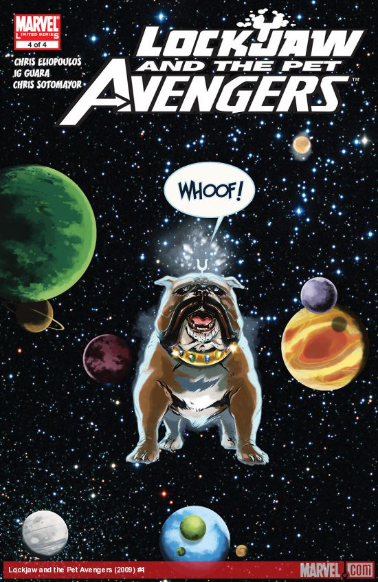 Lockjaw and the Pet Avengers (2009) #4