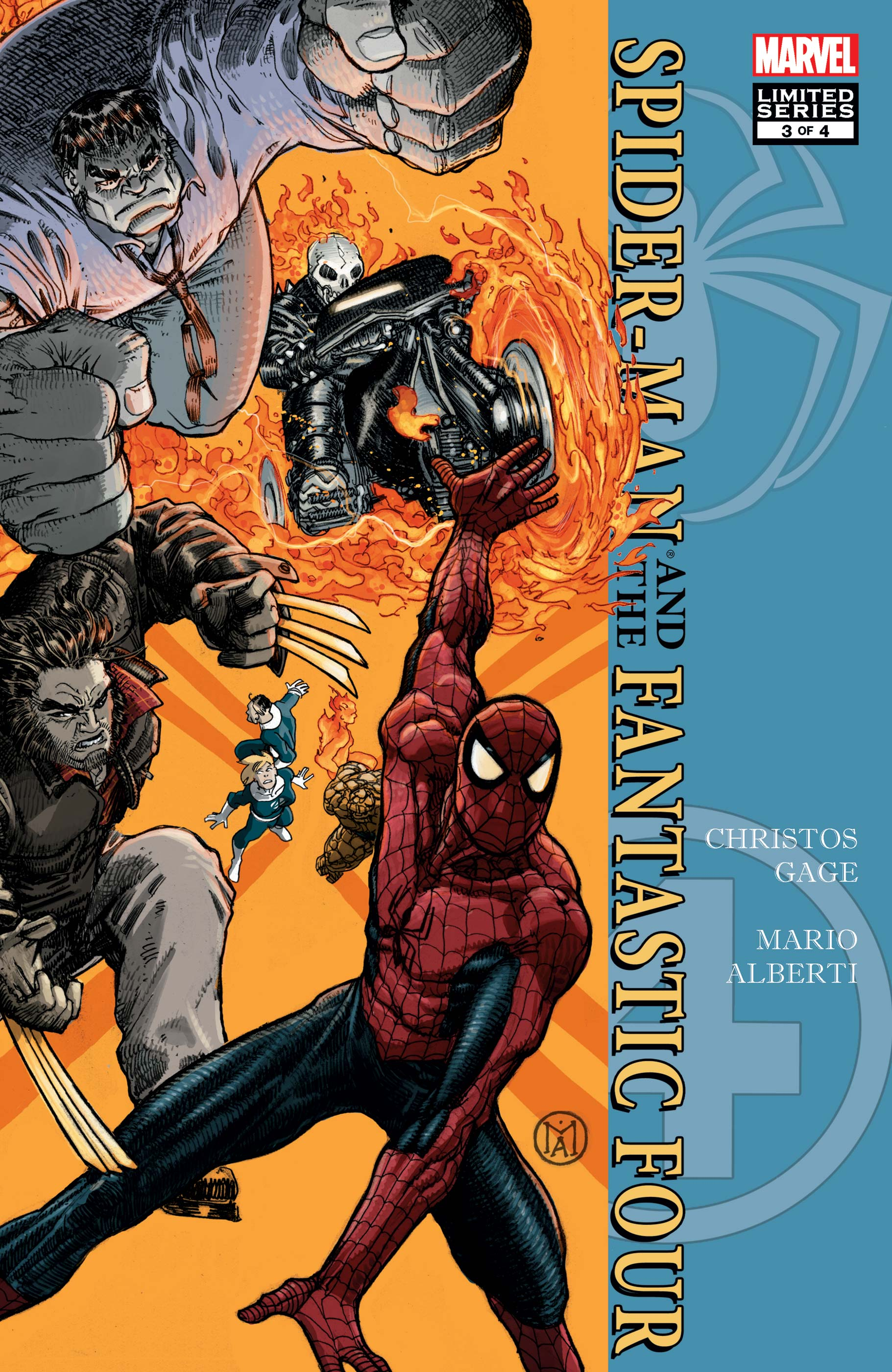 Spider-Man/Fantastic Four (2010) #3