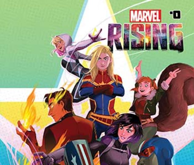 cover from Marvel Rising Kids Infinite Comic (2018) #1