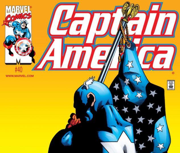CAPTAIN AMERICA 40 cover