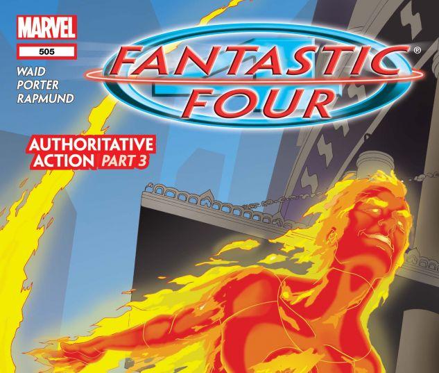 Fantastic Four (1998) #505