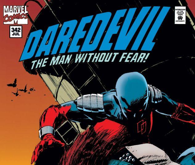 cover from Daredevil (1964) #342