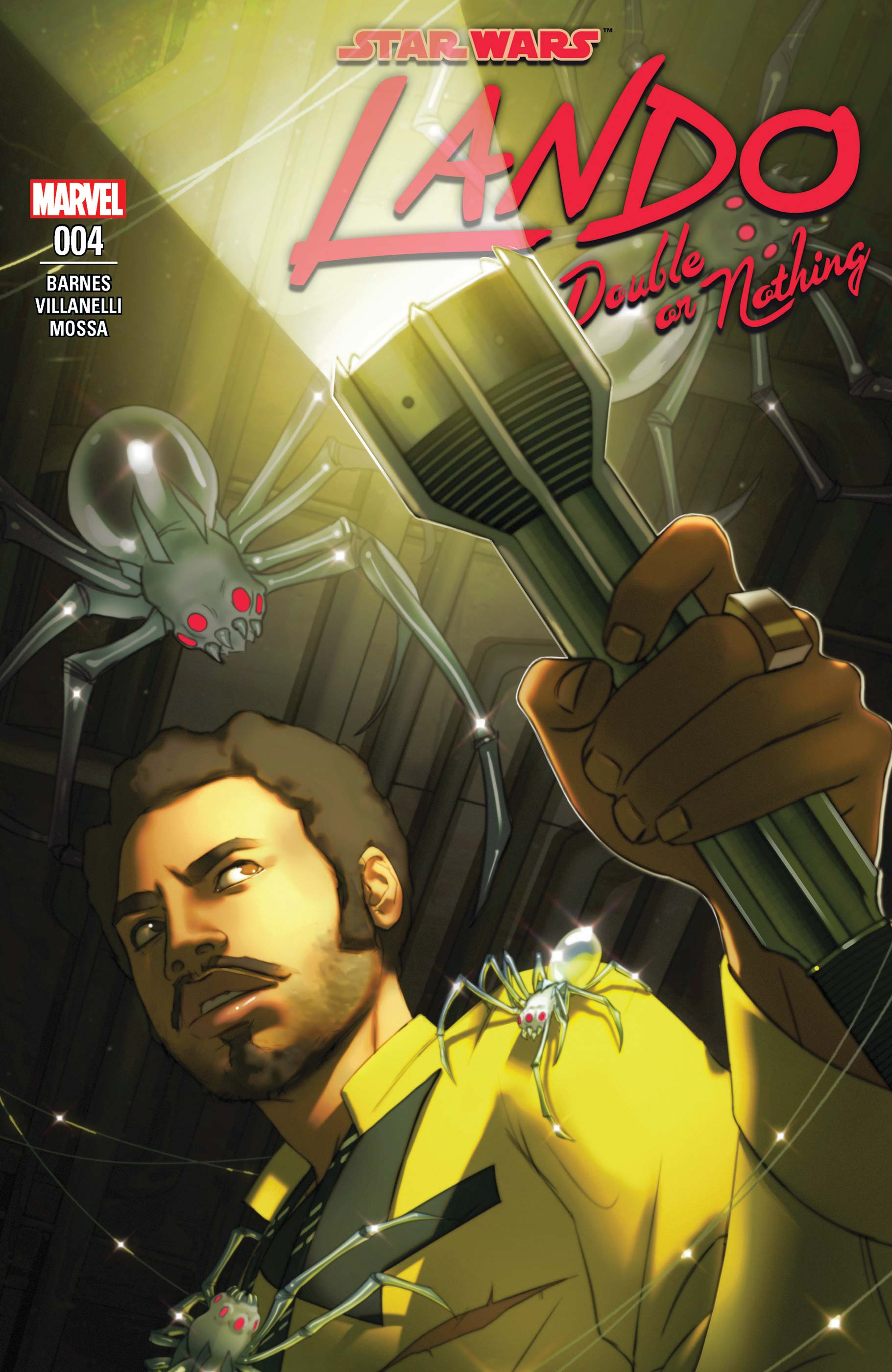 Star Wars: Lando - Double or Nothing (2018) #4