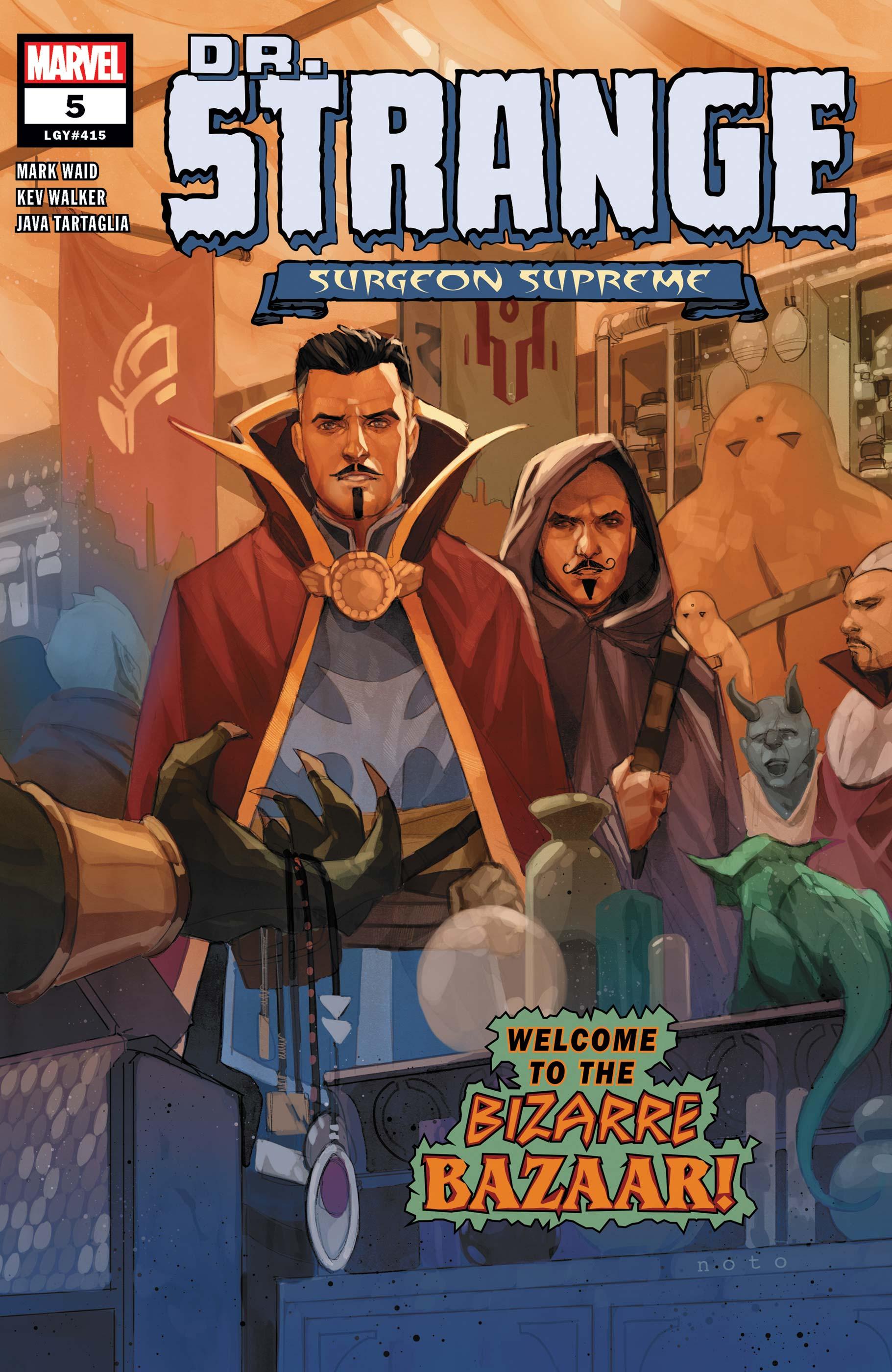 Dr. Strange (2019) #5