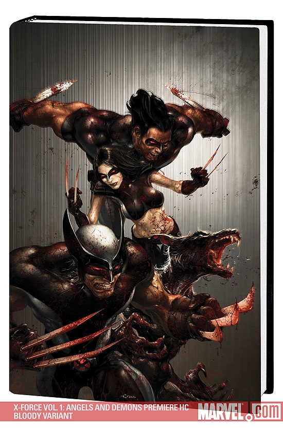 X-Force Vol. 1: Angels and Demons (Hardcover)