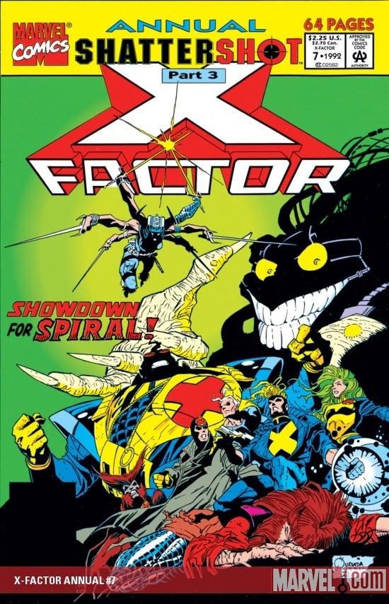 X-Factor Annual (1986) #7