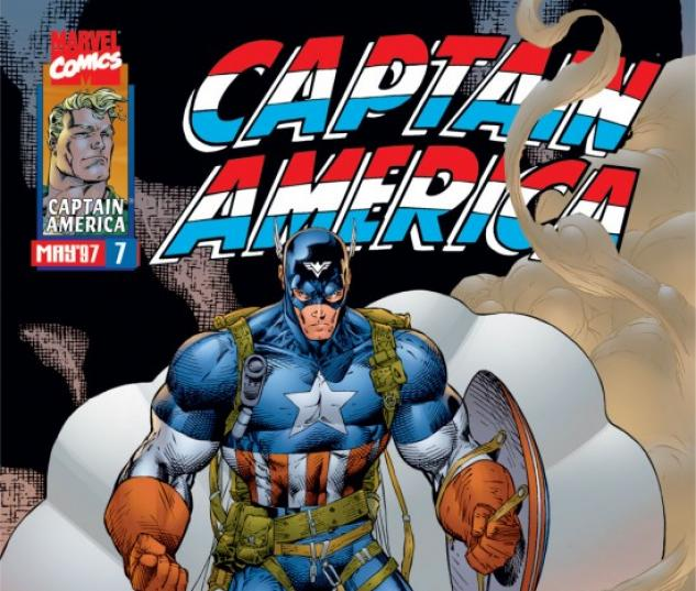 CAPTAIN AMERICA #7 COVER