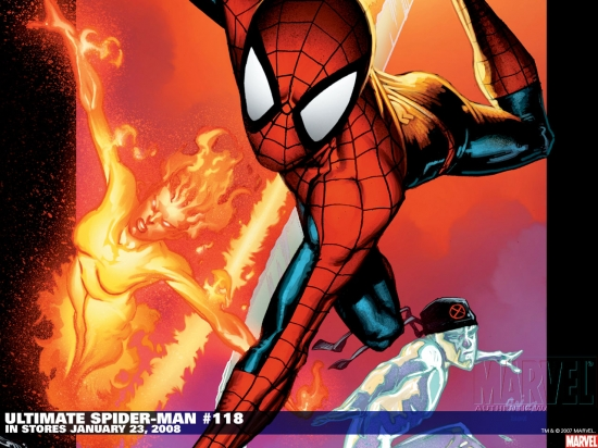 Ultimate Spider-Man (2000) #118 Wallpaper