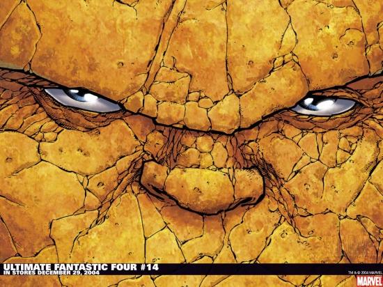Ultimate Fantastic Four (2003) #14 Wallpaper