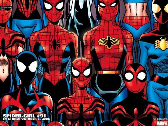 Spider-Girl (1998) #91 Wallpaper