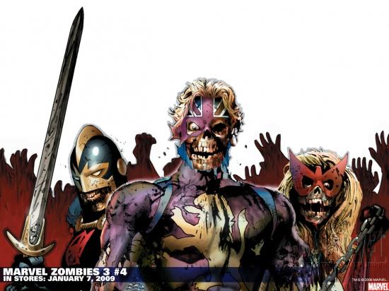Marvel Zombies 3 (2008) #4 Wallpaper