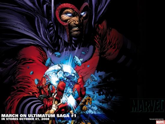 March on Ultimatum Saga (2008) #1 Wallpaper