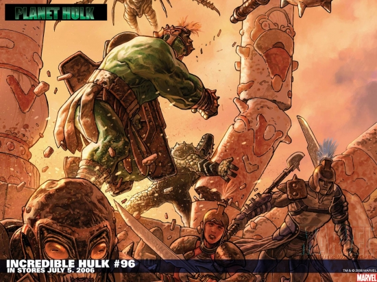 Incredible Hulk (1999) #96 Wallpaper