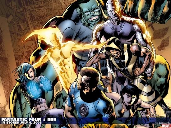 Fantastic Four (1998) #559 Wallpaper