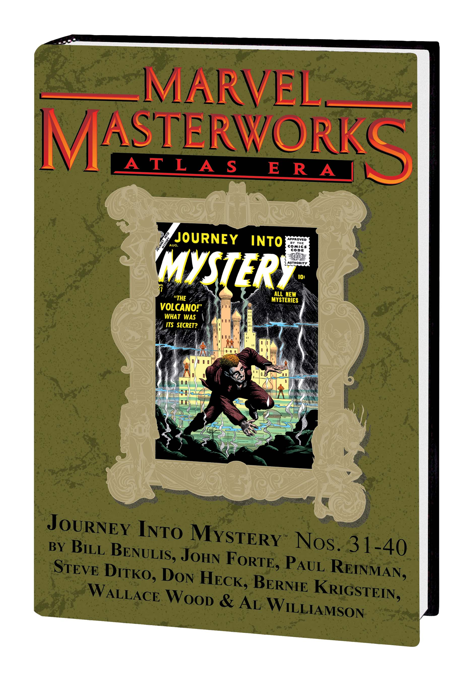 Marvel Masterworks: Atlas Era Journey Into Mystery (Hardcover)
