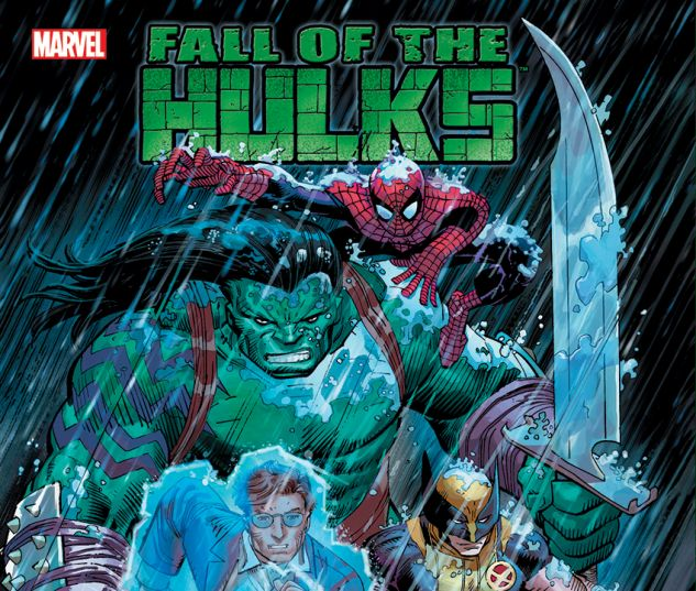 INCREDIBLE HULK: FALL OF THE HULKS (HARDCOVER) cover art