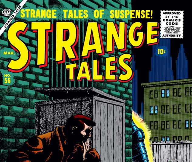 Cover for Strange Tales 56