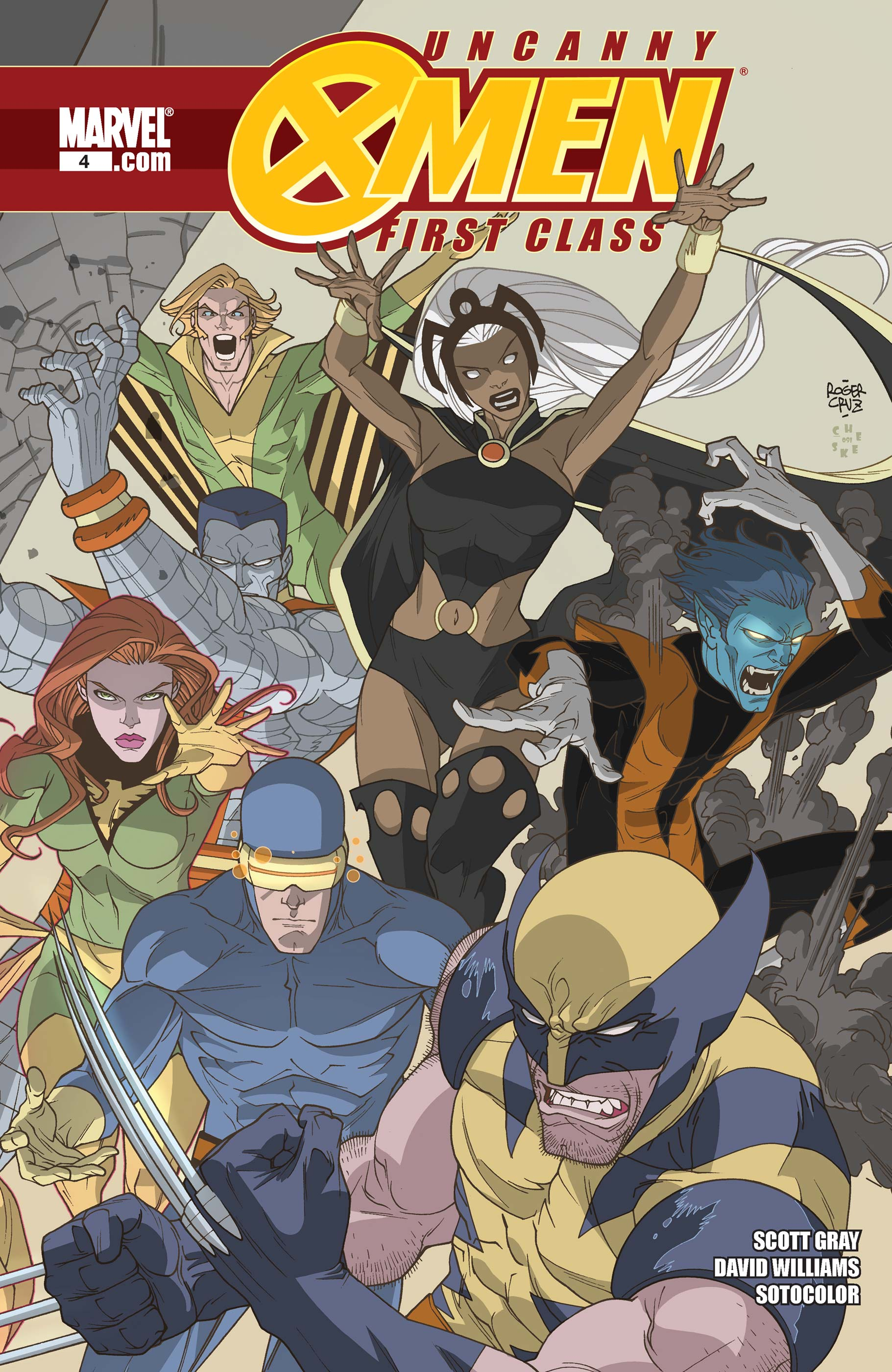 Uncanny X-Men: First Class (2009) #4