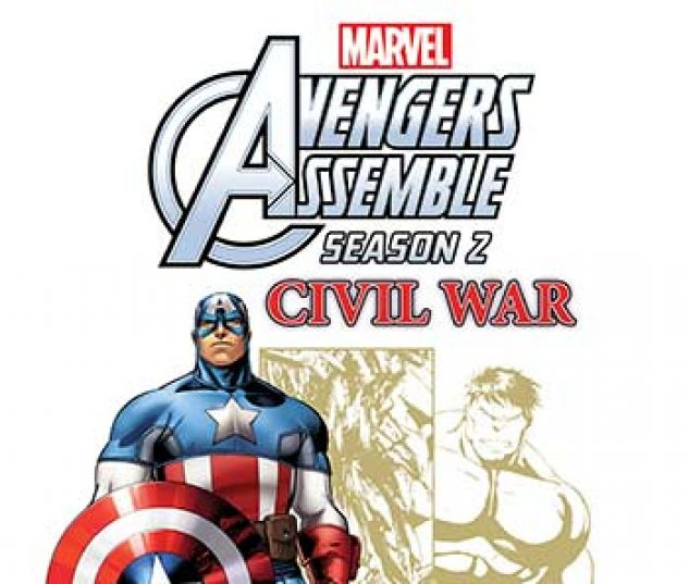 cover from Marvel Universe Avengers Assemble: Civil War (Digital Comic) (2017) #6
