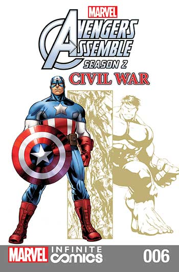 Marvel Universe Avengers Assemble: Civil War (2017) #6