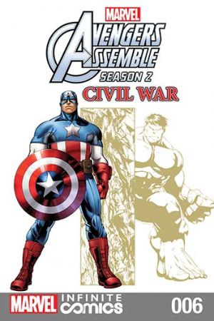 Marvel Universe Avengers Assemble: Civil War #6