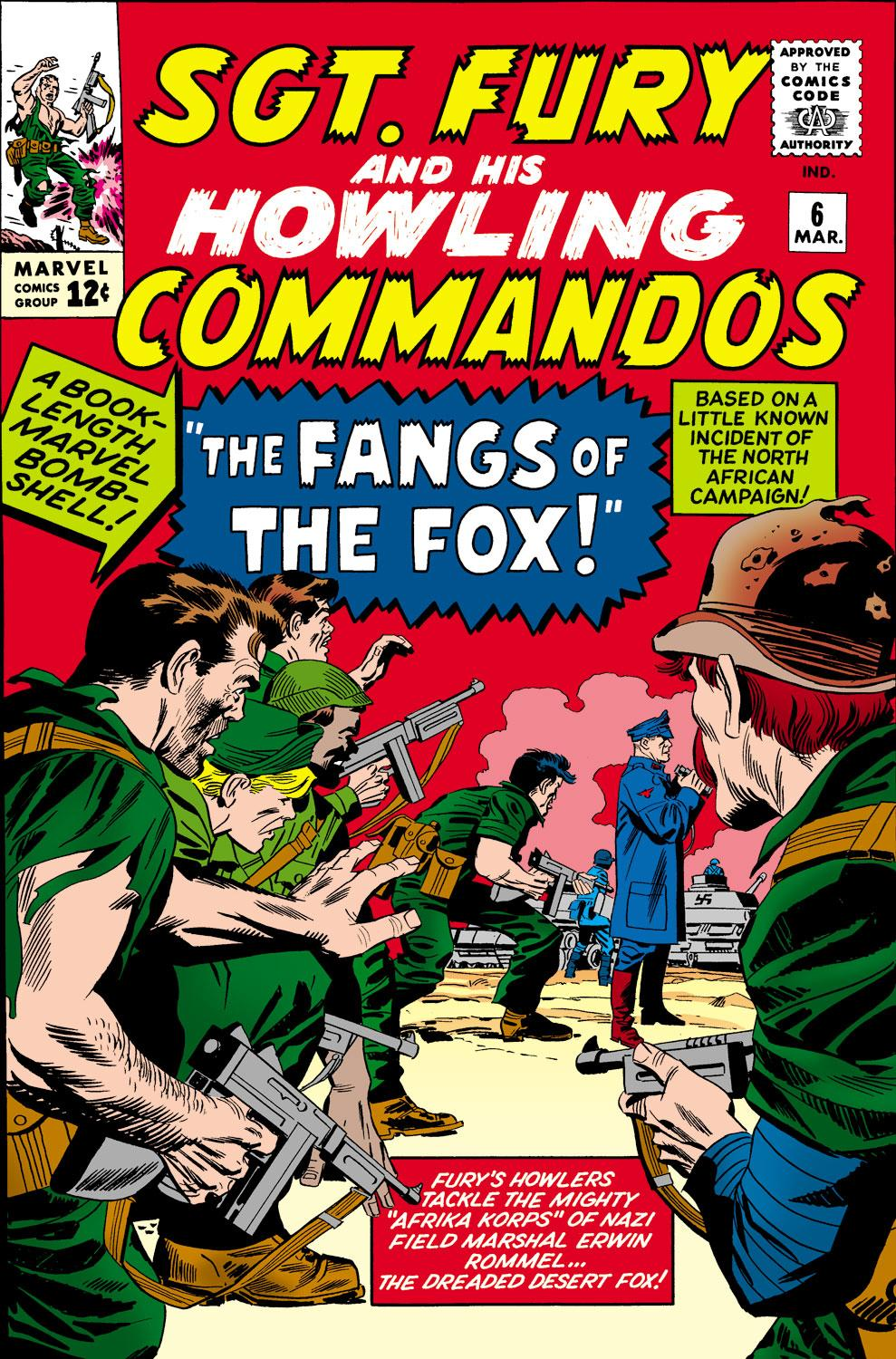 Sgt. Fury and His Howling Commandos (1963) #6
