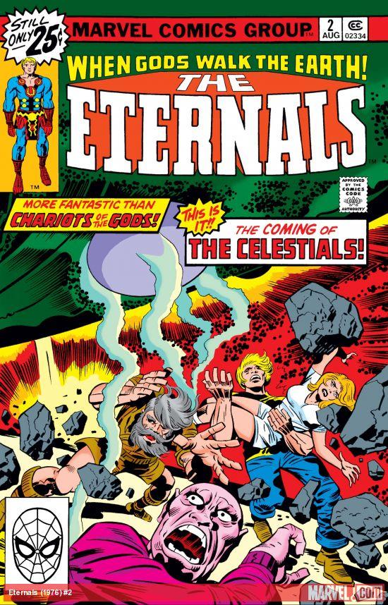 Eternals (1976) #2