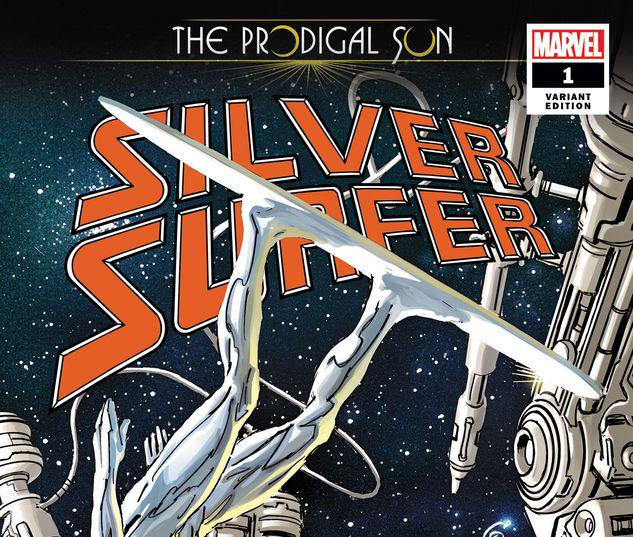 SILVER SURFER: THE PRODIGAL SUN 1 GARNEY VARIANT #1