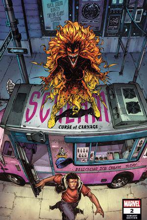 Scream: Curse of Carnage (2019) #2 (Variant)