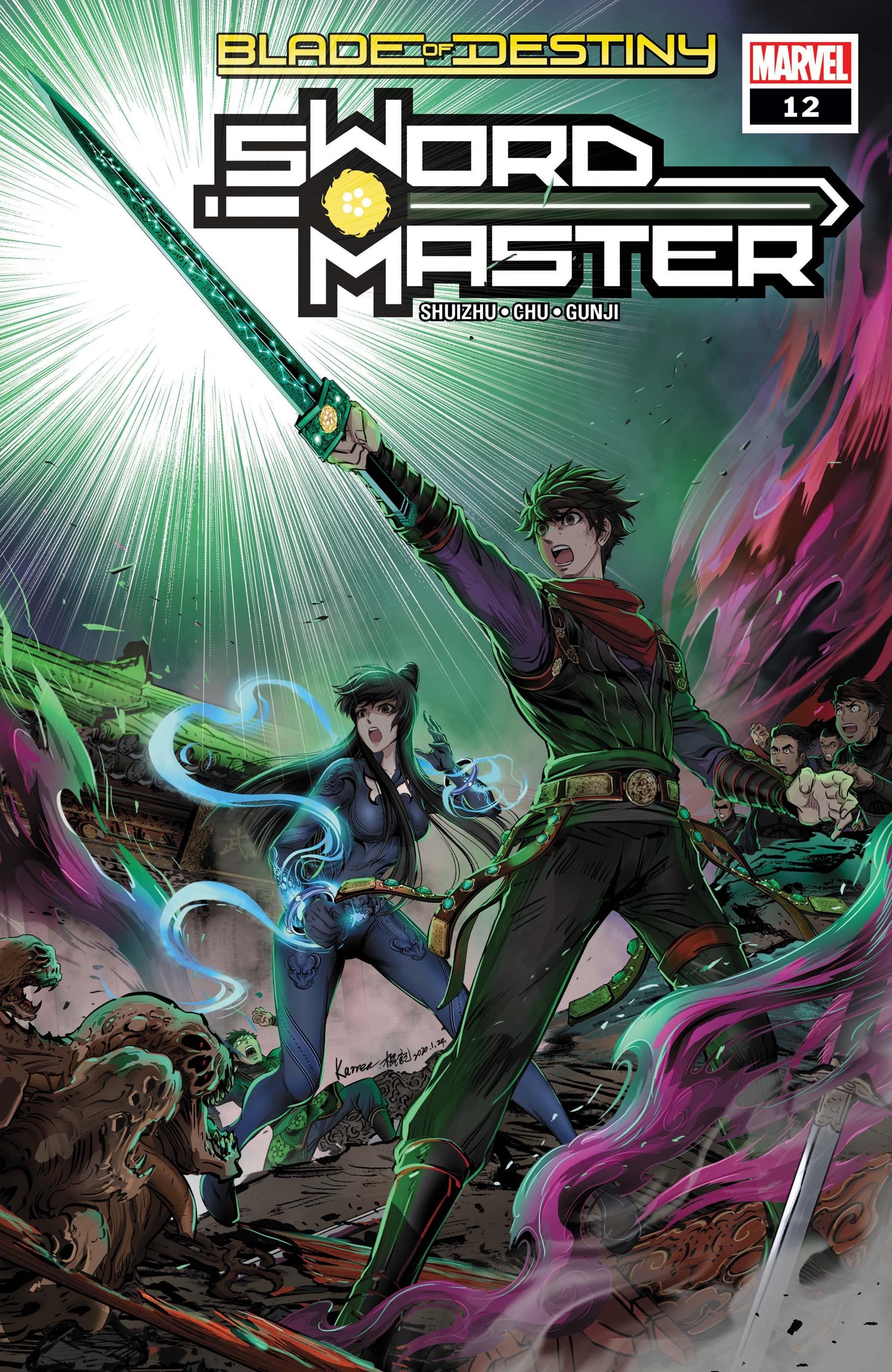 Sword Master (2019) #12