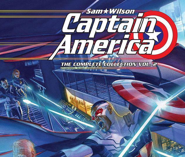CAPTAIN AMERICA: SAM WILSON - THE COMPLETE COLLECTION VOL. 2 TPB #2
