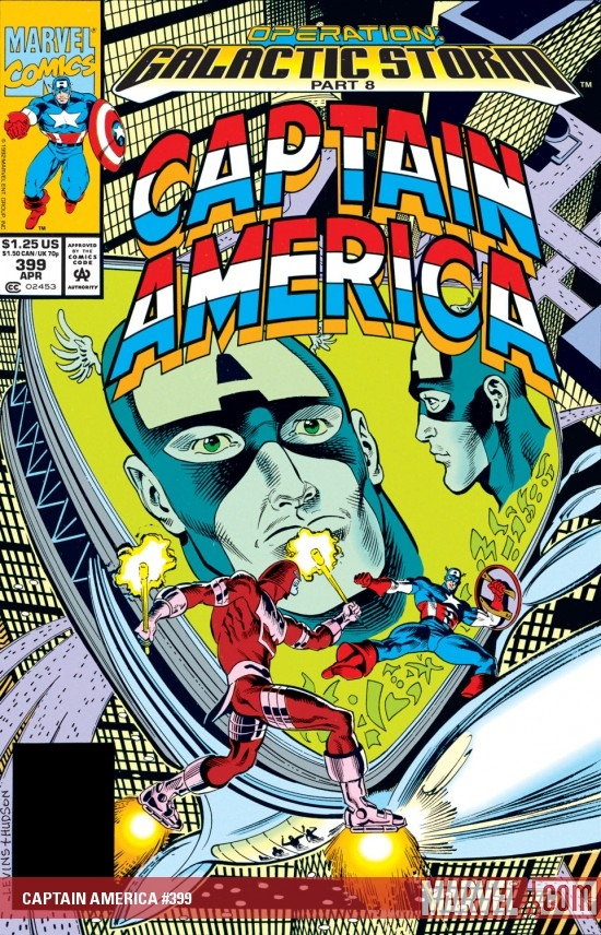 Captain America (1968) #399