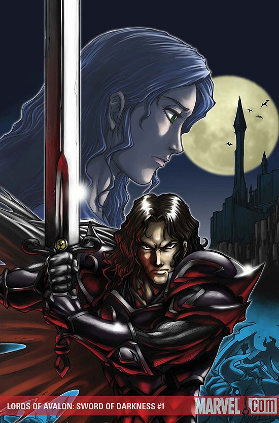 Lords of Avalon: Sword of Darkness (2008) #1