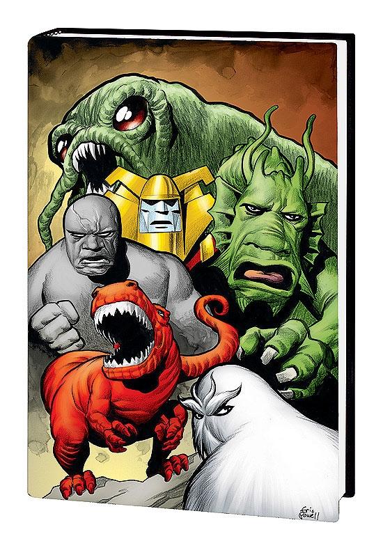 Marvel Monsters (Hardcover)