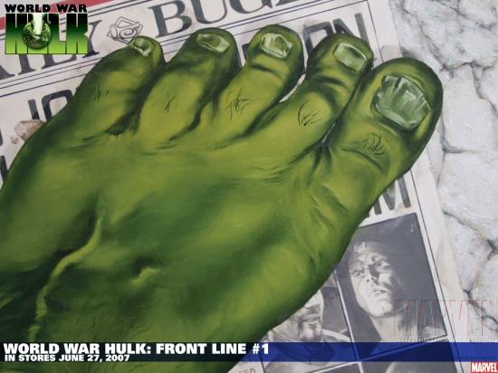 WORLD WAR HULK: FRONT LINE #1